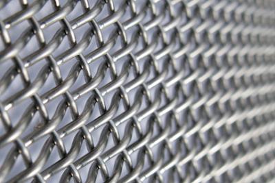 Grelha de metal adaptável para vedação